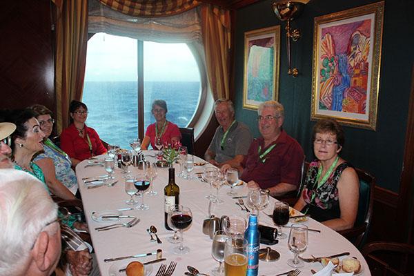 Dining at sea