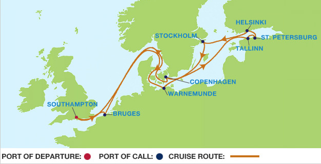 Celebrity Cruises to Baltic Sea in 2019 - Make your cruise ...