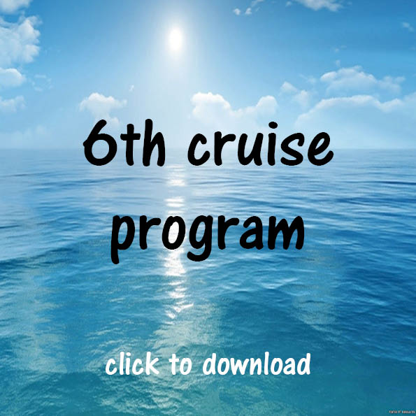 6th cruise program graphic