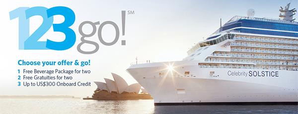 Celebrity Cruises 123Go All Inclusive - MembersOnVacation