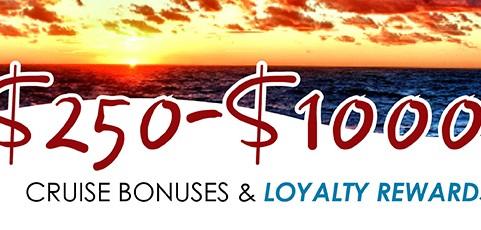 New bonuses and loyalty rewards