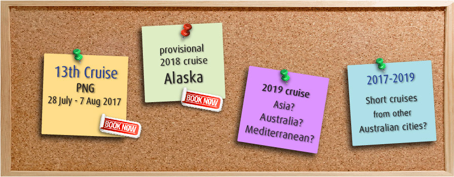UTP Cruise 13-14-15-16 cruises